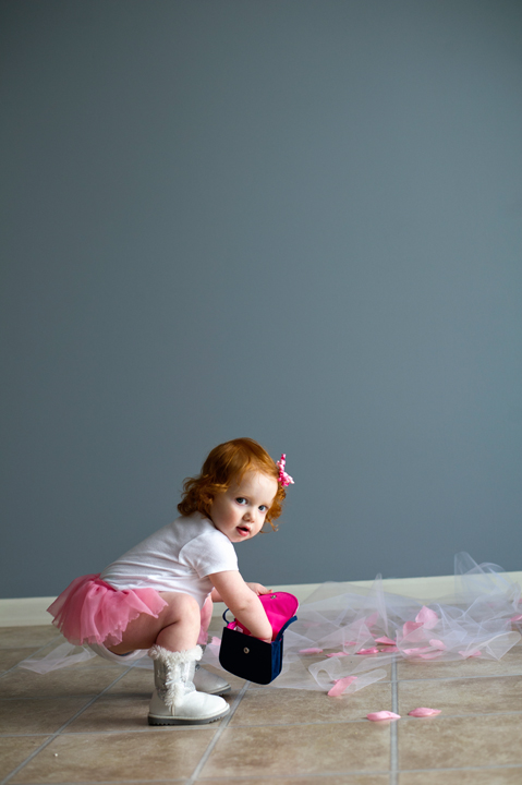 Jenison, MI Ballet Baby Mini Session